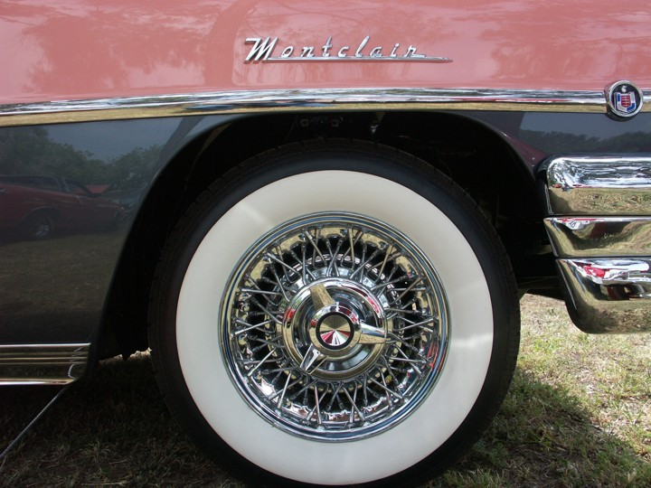 Ford-Lincoln-Mercury-Edsel Wire Wheel and Whitewall Tire ...