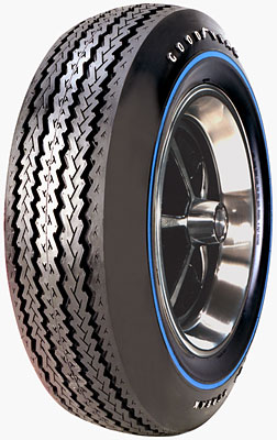 Goodyear 695 14 blue streak raised white letters with blue for 20 inch raised white letter truck tires