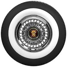 American Classic Wide White Wall Tires