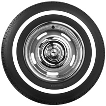 American Classic Narrow White Wall Tires