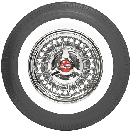 15 Inch Steel Belted Radial Whitewall Tires
