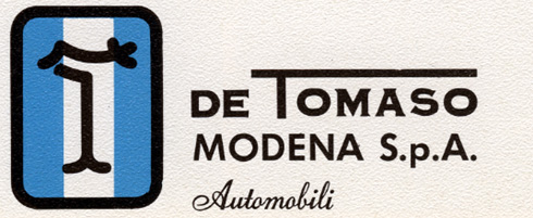 DeTomaso Books & Accessories