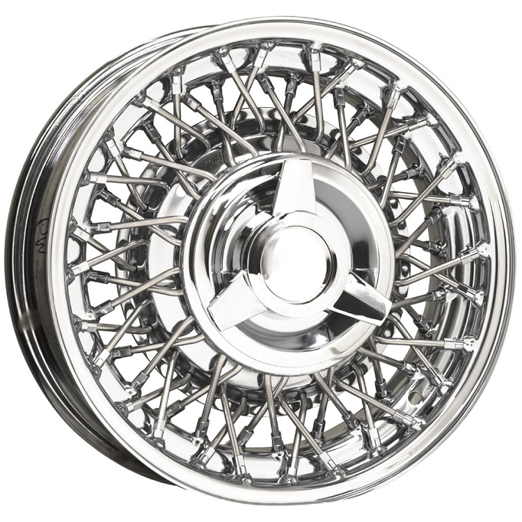 Ford All Chrome Wire Wheels By Truespoke For Sale Chrome Spoked Rims