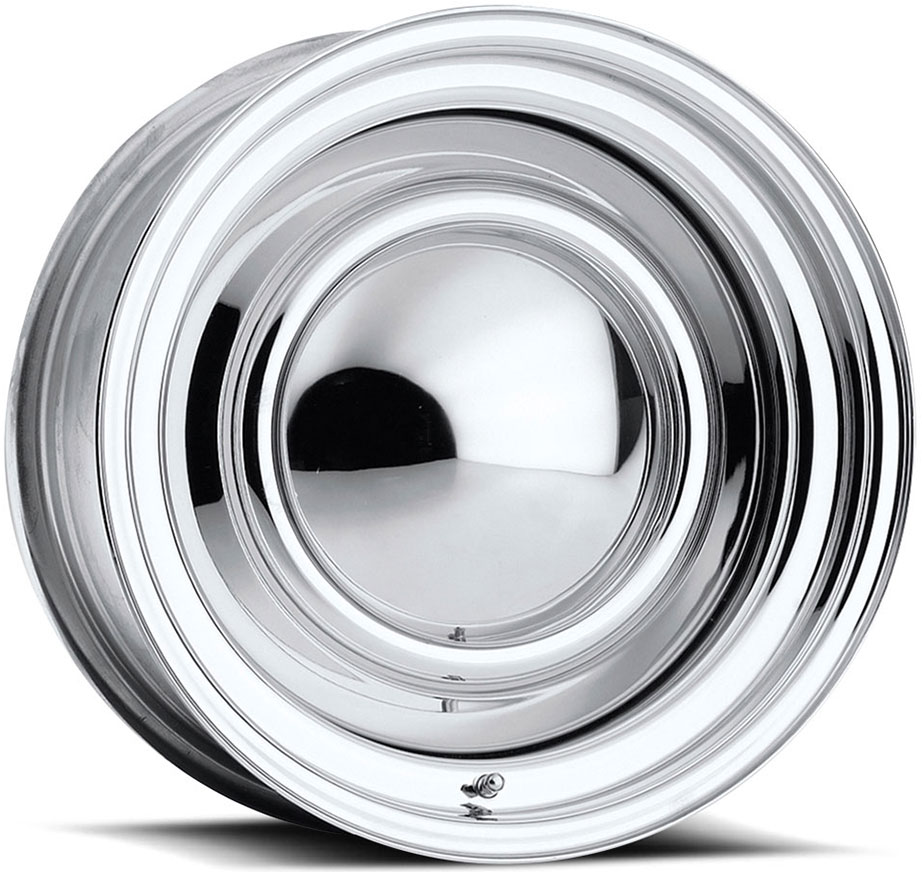 Smoothie Wheels - Chrome Plated Steel