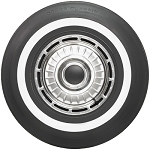 Coker 650-13 One Inch White Wall Tire