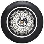 Firestone LR78-15 3/4 Inch White Wall Tire