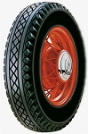 Goodyear 650/16 Deluxe All-Weather Blackwall - 4-Ply Poly Tube Type