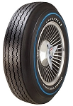Goodyear 775/15 Speedway Blue Streak Raised White Letters with Blue Stripe
