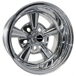 Supreme Chrome Wheel by Truespoke Reverse Style with standard center cap