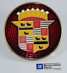 Cadillac emblem features high quality materials and artwork