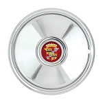 Cadillac Sombrero Style Hubcap Set of 4 - 16 inch diameter wheels only