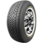Vogue Custom Built Radial VII White and Gold Tire P215/70R15