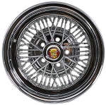 Brougham-50 Cadillac Wire Wheel by Truespoke - 15 X 6 or 15 X 7 Inches