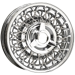 Ford All Chrome Wire Wheels by Truespoke
