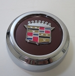 Beautifully detailed cap and emblem for rear wheel drive wheels only.