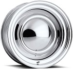 Chrome Plated Smoothie Wheel - 14 X 7 Inch Diameter