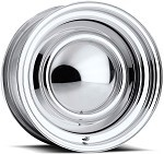 Chrome Plated Smoothie Wheel - 15 X 6 Inch Diameter