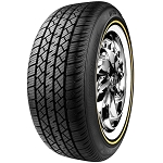Vogue Wide Trac Touring Tire II White and Gold Sidewall P225/60R16