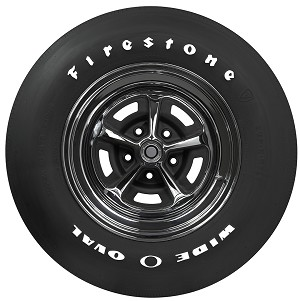 Firestone Wide Oval Radial  GR70-15 RWL