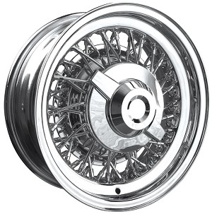 Chrysler and Imperial All-Chrome Wire Wheels by Truespoke
