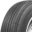 "Tread Pattern: Firestone 700-13 white wall tire with a 5/8"" white wall bias-ply tire"