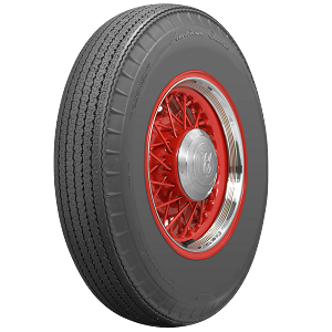 American Classic Bias-Look Steel Belted Radial Tires - 710R15 - Blackwall