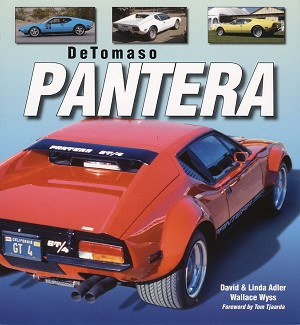 DeTomaso Pantera by David and Linda Adler with Wallace A. Wyss