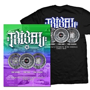 TRUESPOKE X TRIBAL – Men's T Shirt & Limited Edition Poster Bundle