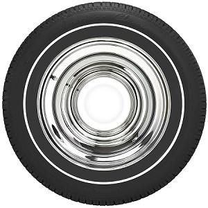 "American Classic P235/60R16 - 3/8"" Whitewall"