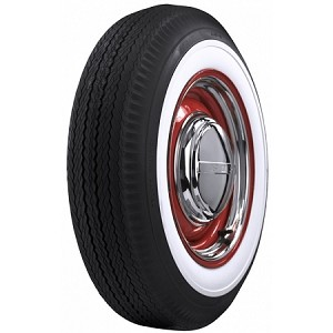 "Firestone 500/525 - 16 - 2 1/4"" Whitewall"
