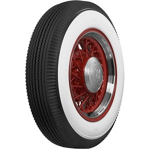* Note on photos shown: Tire and whitewall sizes are approximate and are offered as an example of how the tire generally appears.