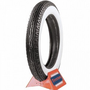 "Firestone 650-18"" - 3 1/2"" Whitewall"