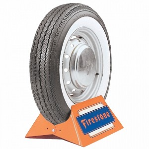 "Firestone 520-13 - 2"" Whitewall"