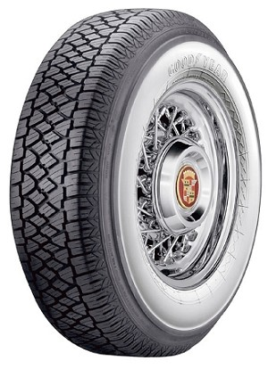 "Goodyear P215/75R15 - 3"" Whitewall"