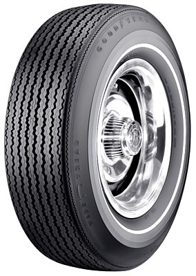 "Goodyear F70/15 Speedway Wide Tread .350"" White Stripe"