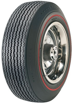 "Goodyear F70/15 Speedway Wide Tread .350"" Red Stripe"