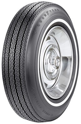 "Goodyear Power Cushion  775/15 - 31/32"" Whitewall"