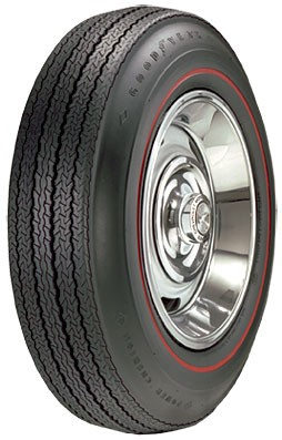 "Goodyear Power Cushion  775/15 - .350"" Red Stripe"