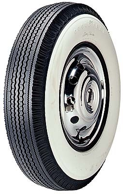 "Goodyear 670/15 Super Cushion - 4 1/4"" Whitewall"