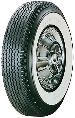 "Goodyear 710/15 Super Cushion Deluxe - 2 3/4"" Whitewall"