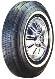 "Goodyear 800/14 Custom Super Cushion - 1"" Whitewall"