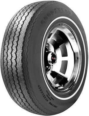 Goodyear GR70/15 Steelgard RWL - White Stripe Tire